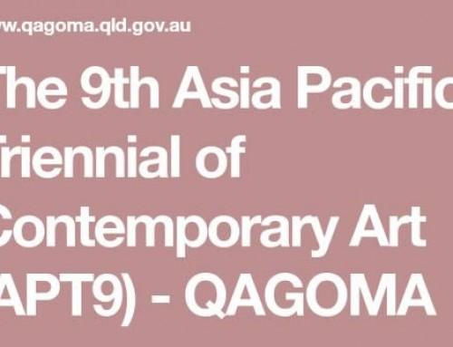 AJSQ Tour of the Asia Pacific Triennial (APT9) at QAGOMA