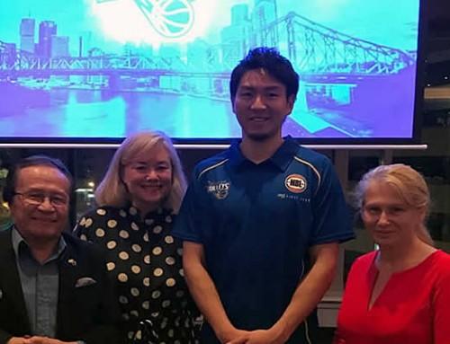 Brisbane welcomes new Brisbane Bullet's recruit Makoto Hiejima